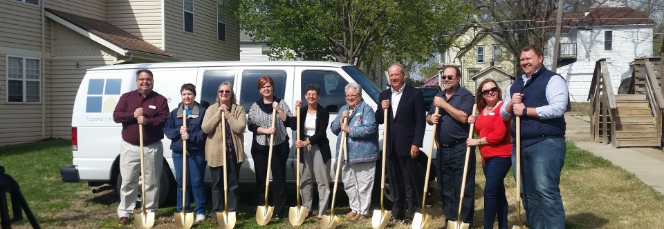 Groundbreaking For New Duplex for Homeless
